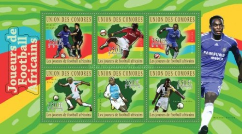 [Sports - African Football Players, Typ ]