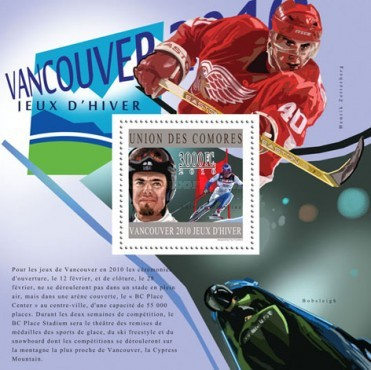 [Sports - Olympic Gold Medalists - Vancouver, Canada 2010, Typ ]