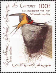[Airmail - Birds - The 200th Anniversary of the Birth of John J. Audubon, type AAE]