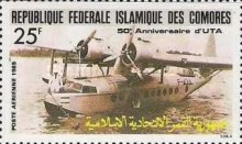 [Airmail - The 50th Anniversary of Union des Transports Aeriennes, type ABR]