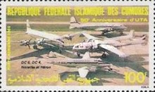 [Airmail - The 50th Anniversary of Union des Transports Aeriennes, type ABT]