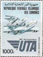 [Airmail - The 50th Anniversary of Union des Transports Aeriennes, type ABV]