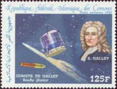 [Airmail - Appearance of Halley's Comet, type ABW]