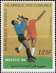 [Airmail - Football World Cup - Mexico 1986, type ACB]