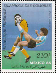 [Airmail - Football World Cup - Mexico 1986, type ACC]