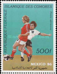 [Airmail - Football World Cup - Mexico 1986, type ACD]