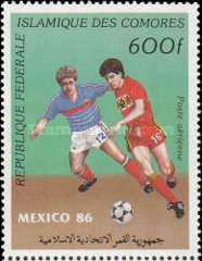 [Airmail - Football World Cup - Mexico 1986, type ACE]