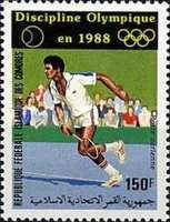 [Airmail - Tennis as 1988 Olympic Games Discipline, type ACM]