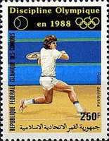 [Airmail - Tennis as 1988 Olympic Games Discipline, type ACN]