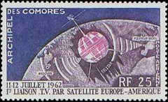 [Airmail - The 1st Trans-Atlantic T.V. Satellite Link, type AF]