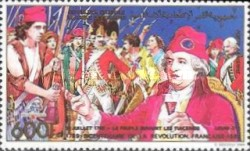 [Airmail - The 200th Anniversary of French Revolution, type AGW]