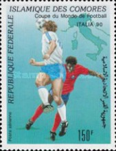[Airmail - Football World Cup - Italy, type AIC]