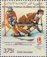 [Winter Olympic Games - Albertville 1992, France - Medal Winners at Previous Games, type AIS]
