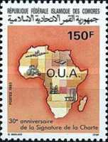 [The 30th Anniversary of Organization of African Unity, type AKW]