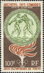 [Airmail - Olympic Games - Tokyo, Japan, type AT]