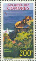 [Airmail - Comoro Views, type BG]
