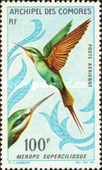 [Airmail - Birds, type BM]