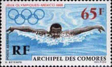 [Airmail - Olympic Games, Mexico, type BV]