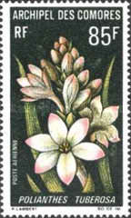 [Airmail - Flowers, type CC]