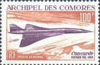 [Airmail - The 1st Flight of Concorde, type CE]