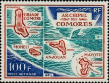 [Airmail - Comoro Landscapes, type CZ]
