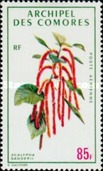 [Airmail - Tropical Plants, type DE]
