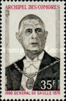 [The 1st Anniversary of the Death of Charles de Gaulle, type DL]