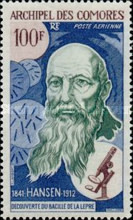 [Airmail - The 100th Anniversary of Hansen's Identification of Leprosy Bacillus, Typ EK]