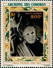 [Airmail - Picasso Commemoration, Typ EM]
