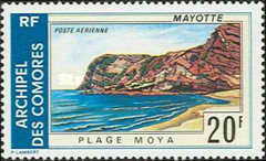 [Airmail - Mayotte Landscapes, Typ FA]
