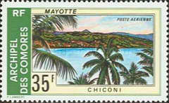 [Airmail - Mayotte Landscapes, Typ FB]