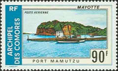[Airmail - Mayotte Landscapes, Typ FC]