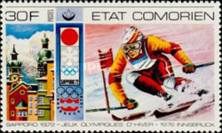 [Winter Olympic Games - Innsbruck, Austria, type IN]