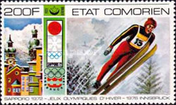 [Airmail - Winter Olympic Games - Innsbruck, Austria, type IQ]