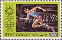 [Olympic Games - Montreal, Canada, type IW]