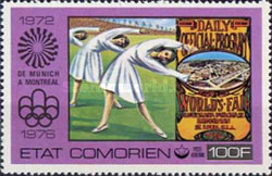 [Airmail - Olympic Games - Montreal, Canada, type IZ]