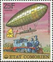 [History of Communications - Airships and Railways, Typ LI]