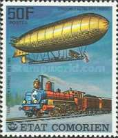 [History of Communications - Airships and Railways, Typ LJ]