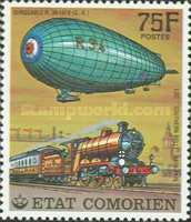 [History of Communications - Airships and Railways, Typ LK]