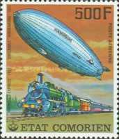 [Airmail - History of Communications - Airships and Railways, Typ LM]