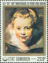 [The 400th Anniversary of the Birth of Peter Paul Rubens, 1577-1640, Typ LV]
