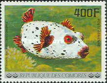 [Airmail - Fish, Typ MJ]