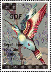 [Birds Stamps of 1978 Surcharged, type MU1]
