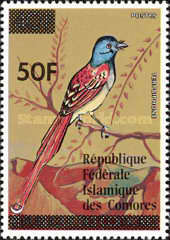 [Birds Stamps of 1978 Surcharged, type MW1]