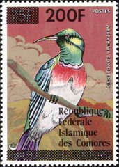 [Birds Stamps of 1978 Surcharged, type MX1]