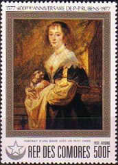 [Airmail - The 400th Anniversary of the Birth of Rubens, type QD]