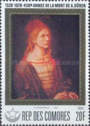 [The 450th Anniversary of the Death of Albrecht Durer, type QH]