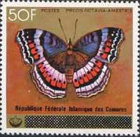 [Butterflies - Postage Stamps of 1978 with Country Name Obliterated, Typ SR]