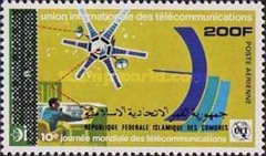 [Airmail - Previous Stamps with Overprint of the New Country Names in Arabic and Latin Script, Typ UM]