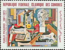 [Airmail - The 100th Anniversary of the Birth of Pablo Picasso, 1881-1973, Typ WE]